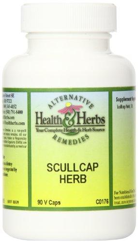 Экстракт коры белой ивы, 90 табл. (Alternative Health & Herbs Scullcap 90-count)
