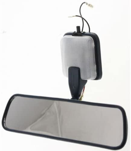 New Rear View Mirror Blue Gray w// Light for Toyota Pickup 1989-1995 TO2950105