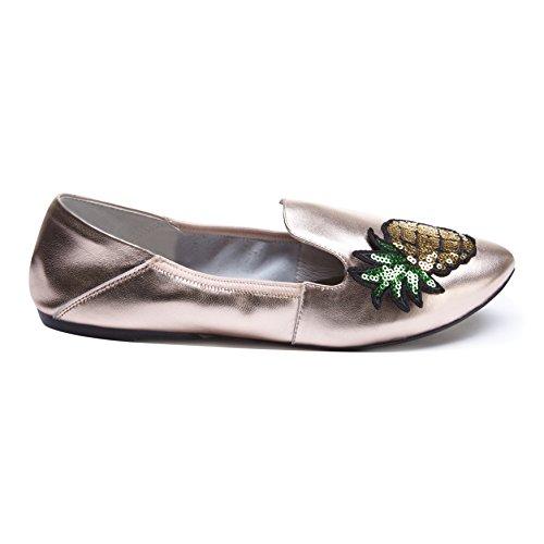 Cocorose Faltbare Schuhe - Carnaby Espadrillas Damen Oro Rosa E Ananas