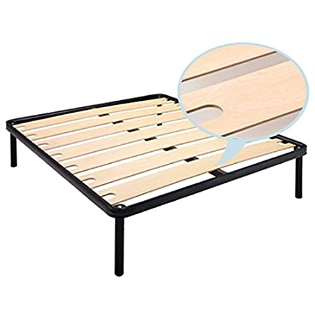 Dafne Three Quarter Size Orthopaedic Bed Base With Iron Frame And