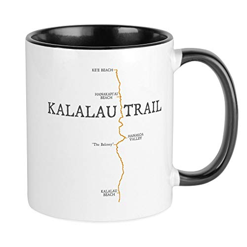 (CafePress Kalalau Trail Mug Unique Coffee Mug, Coffee Cup)