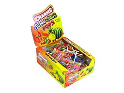 Charms Sweet And Sour Pops - 48 Lollipops/Box