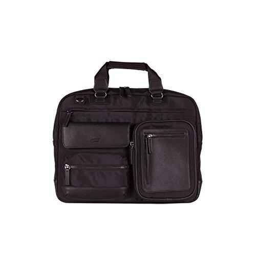 0e85fa36df24 Tutilo Mens Designer Briefcase Travel Work Handbag With Padded Laptop Sleeve