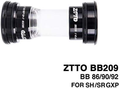 Tivollyff BB209 BB92 BB90 BB86ロードマウンテンバイク24mmクランクセットBB GXP 22mmチェーンセットバイクパーツ用プレスフィットボトムブラケット