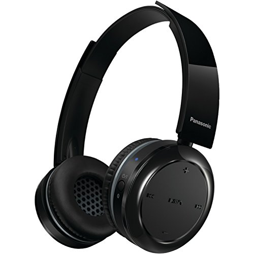 Panasonic Wireless Bluetooth On Ear Stereo Headphones With Mic Controller Rp Btd5 K  Black  40 Hours Of Playback  Powerful Sound