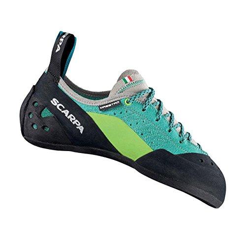 Scarpa Maestro Womens Rock Shoe Green/Blue kK3qaHt