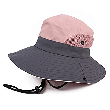 JURUAA Women s Boonie Hat Sun Bucket Visor Hats Packable Travel Hat Dusty  Rose 7e1d7ec8333