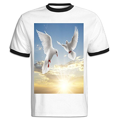 Dove Images Hit Color Tshirts For Men (Dove Image)