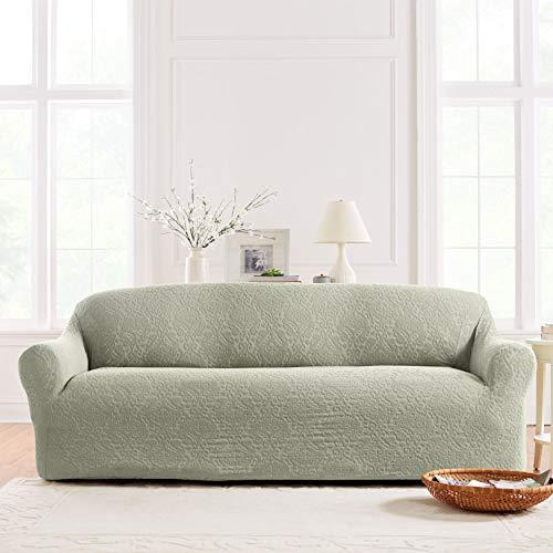 BrylaneHome Studio Ikat Stretch Sofa Slipcover