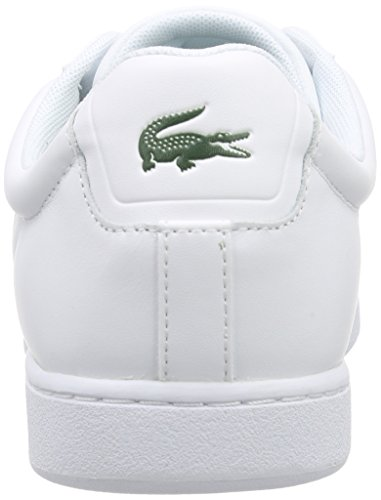d3646224081d ... Lacoste Carnaby Evo Lcr Spm Herre Sneakers Weiß (wht 001) Q1zEFO ...