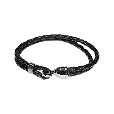 AUTHENTIC HANDMADE Leather Bracelet, Men Women Wristbands Braided Bangle Craft Multi [SKU001828]