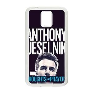 Anthony Jeselnik Pensamientos y Caso Oraciones alta resolución cartel Samsung Galaxy S5 teléfono celular funda blanca del teléfono celular Funda Cubierta EEECBCAAH71589