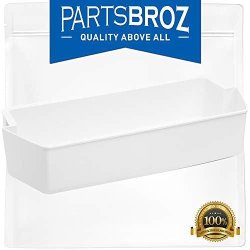 240356402 Clear Refrigerator Bin for Electrolux and Frigidaire, Upper Slot Replacement Shelf, Gallon Size by PartsBroz - Replaces Part Numbers AP2549958, 240430312, 240356416, 240356407, and more