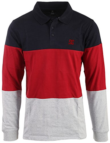 Dc Cotton Polo Shirt (DC Men's 94 Heritage Polo Shirt, Dark Indigo, Large)