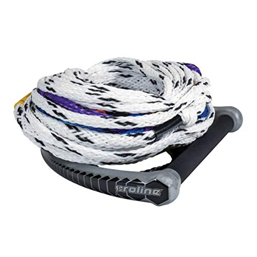 PROLINE Classic Package with 10 Sections Water Ski Rope 2019-75ft 10 Section Ski Rope