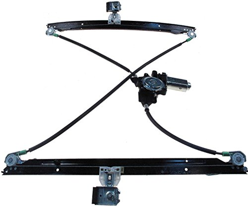 Dodge Regulator (Dorman 741-534 Front Driver Side Replacement Power Window Regulator with Motor for Select Chrysler/Dodge Models)