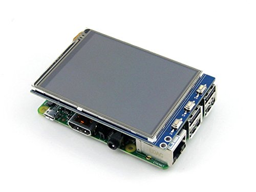 Waveshare Raspberry Pi LCD Display Module 3.2inch 320*240 TFT Resistive Touch Screen Panel SPI Interface for Any Version of Rapsberry-pi: Amazon.es: ...