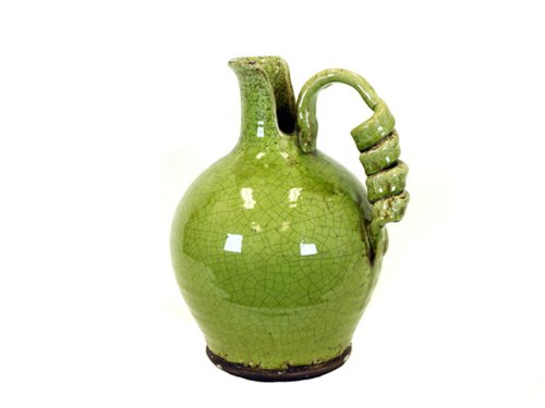 (Urban Trends 76039 Decorative Ceramic Tuscan Green Vase)