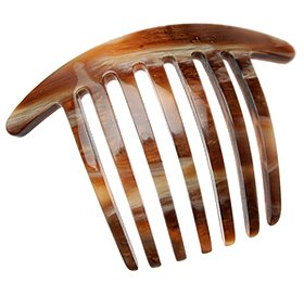 France Luxe Mini French Twist Comb - Caramel Horn by France Luxe