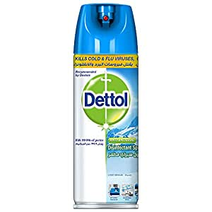 Dettol Crisp Breeze Disinfectant Spray 450ml