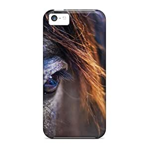 For Dreaming Your Dream Iphone Protective Case, High Quality For Iphone 5c Horse Detail Skin Case Cover