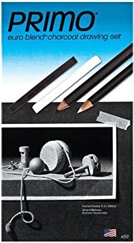 General's Primo Charcoal Deluxe Drawing Set, Set of 12 by GENERAL PENCIL CO., INC.