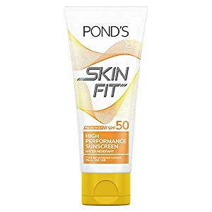 POND'S Skin Fit Pre Work Out High Performance Sunscreen SPF50 Cream, 100 G