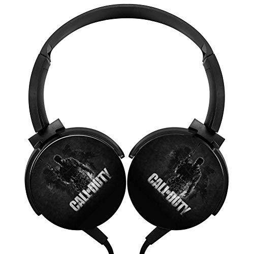 Wired Stereo Headphone 3D Call of Du-ty Portable Noise Cancelling Over Ear Headset Earphone Earpiece