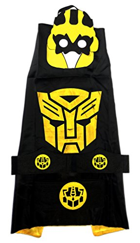 Children's Superhero Costume - 5 Pc Set - Transformers - Bumblebee (Superhero Team Costumes)