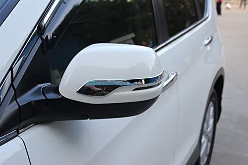 Chrome Rear View Mirror Side Molding Trim Cover For CRV 2012 2013 2014 2015 KLY