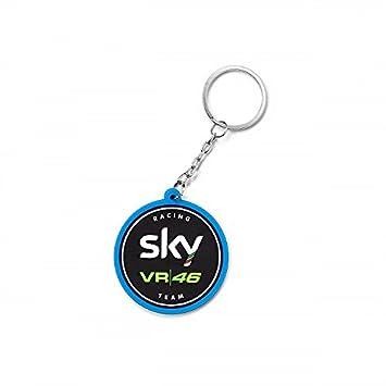 Valentino Rossi VR46 Sky Racing Team Moto 3 GP Logo Key Ring ...