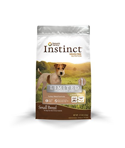 - Instinct Limited Ingredient Diet Raw Boost Small Breed Grain Free Turkey Meal Formula Natural Dry Dog Food By Nature'S Variety, 4.1 Lb. Bag