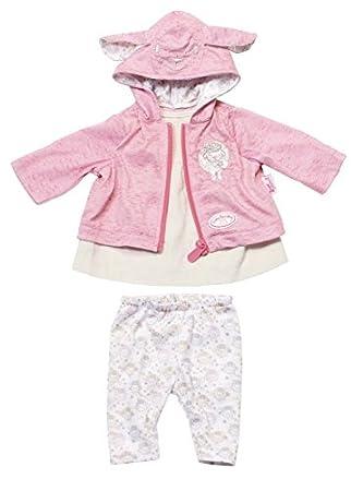 714b732b8163d Zapf Creation 794937 – Baby Annabell Vêtements Veste Rose avec Oreilles.  Cliquez pour ouvrir le ...