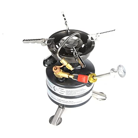 Amazon.com : Kingzer Outdoor Gasoline Stove Portable One-piece Burner for Camping Picnic Hiking : Sports & Outdoors