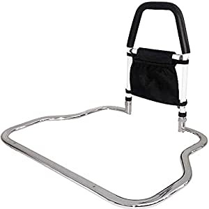 bed rails for elderly adults medokare hospital grade safety bed rail for seniors bed side. Black Bedroom Furniture Sets. Home Design Ideas