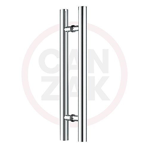 Contemporary Stainless Steel Pulls - 6