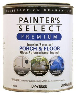 True Value DP15-QT Hunter Green Gloss Polyurethane Floor and Trim Enamel, 1-Quart - Low Voc Polyurethane