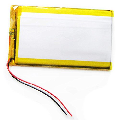 (Ofeely 3.7V 2000mah 405085 Lithium Polymer Li-Po Rechargeable Battery For Mp3 MP4 GPS PSP DVD mobile power Video game PAD E-books )
