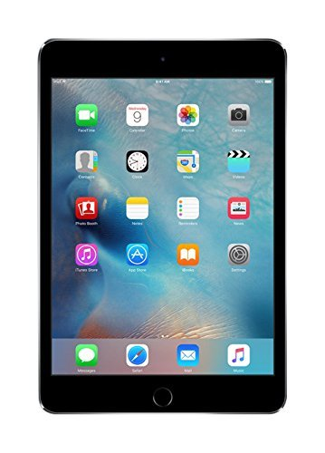 Apple iPad Mini 4 MK9G2LL/A 7.9-Inch Multi-Touch Retina Display, 64GB (Space Gray) (Renewed)