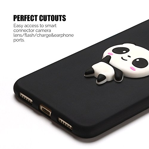 Funda Huawei P8 Lite 2017 Carcasa P8 Lite 2017 Anfire Suave Silicona Flexible Gel TPU Case Ultra Ligero Anti-Gota Anti Rasguños Bumper Cover para Hauwei P8 Lite 2017 [5.2 Pulgadas] Blando Protectora T Panda