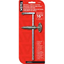Task Tools T33664 16-Inch Adjustable Drywall Circle Cutter