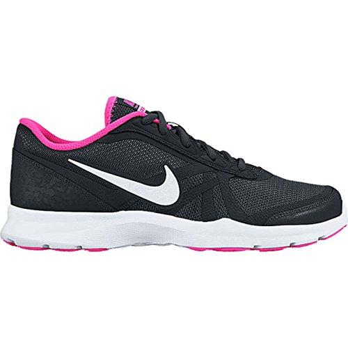 Nike W Core Motion Tr 2 Mesh, Zapatillas de Gimnasia para Mujer, Morado, Taille Negro (Black / White-Pink Blast)