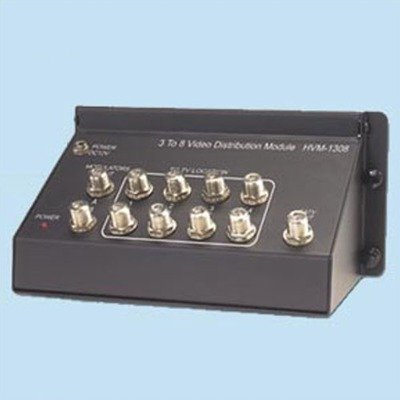 Video RF Modulator 2 Ports Combiner + CATV Active Bi-Directional 8 Ports Distribution Module (HVM-1308) ()