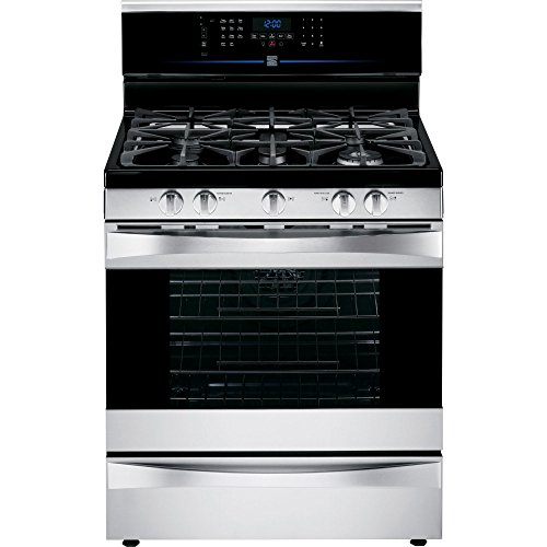 Kenmore Elite 75353 5.5 cu. ft. Self Clean Dual Fuel Range in Stainless Steel, includes delivery and hookup