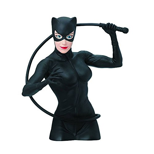 - DC Comics Cat Woman Bust Bank Action Figure