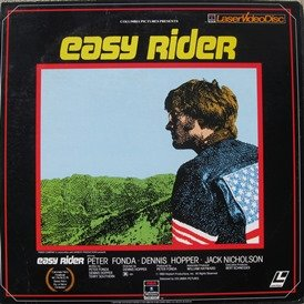 Easy Rider LASERDISC (NOT A DVD!!!) (Full Screen Format) Format: Laser - Columbia Mall The