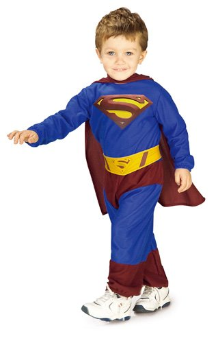 Superman Returns Jumpsuit And Cape Superman, Superman Print, 1-2 Years Costume (Superman Costume For Sale)