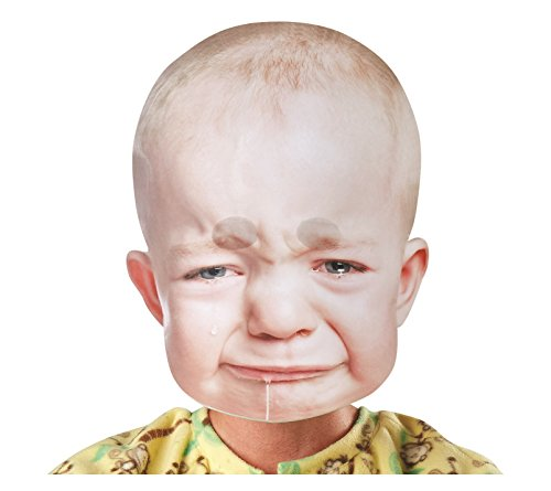Bobble Hedz Giant Crying Baby (Giant Masks Halloween)