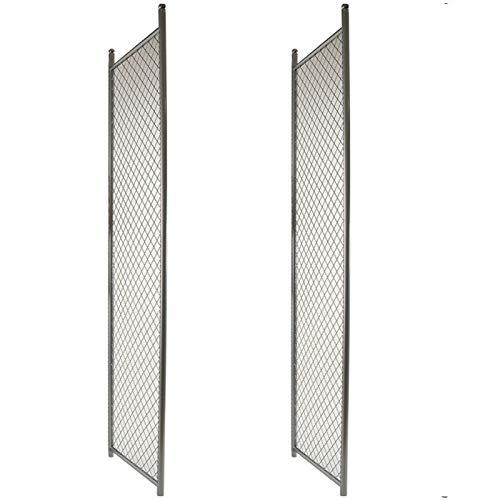 24-3//4W x 72H Basic Chainlink Display Panels Set of 2 Panels