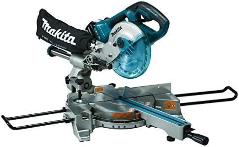 Makita Dls714z Slide Compound Mitre Saw Twin 18v Cordless Ltx 190mm Body Only 1 W 36 V Multi Large Amazon Co Uk Diy Tools